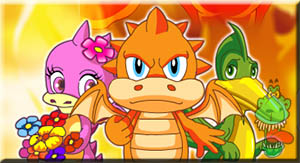 Jogo do Dinosauro Rei: Drago Adventure